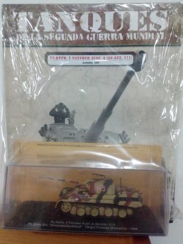 coleccion tanques segunda guerra mundial. precio por unidad.