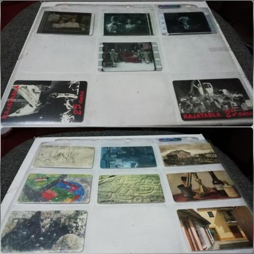 colección tarjetas telefónicas