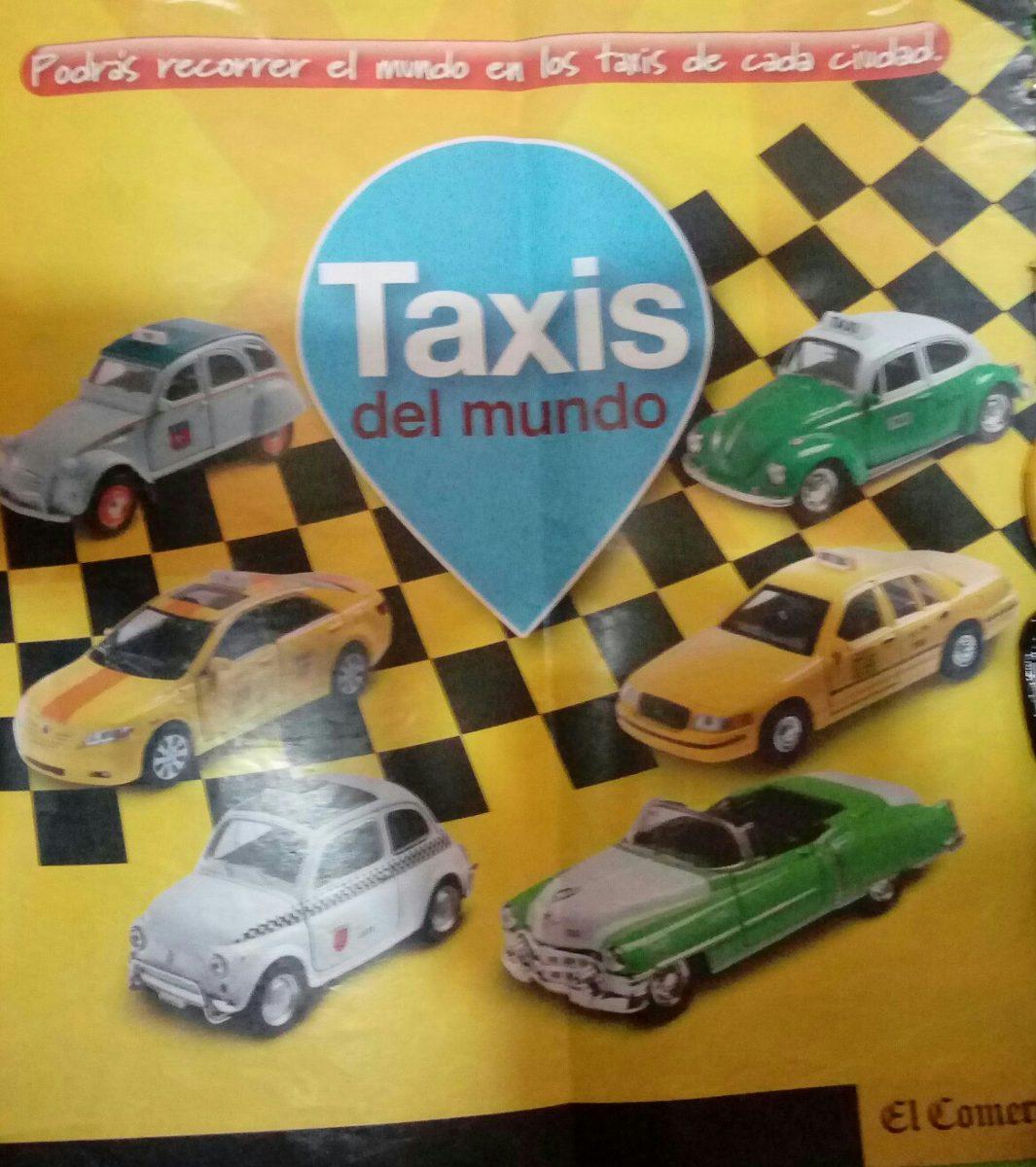 Coleccion taxis del mundo el comercio s 45 00 en for Coleccion cuchillos el mundo