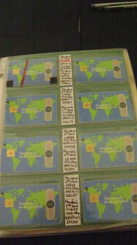 coleccion telefonica tarjeta