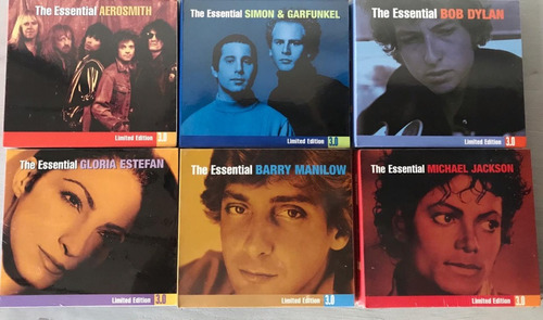 coleccion the essential 3 cds  - anglo, rock, pop - nuevos