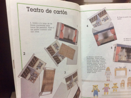 colección tiempo libre -títeres  - denny robson -ed. norma