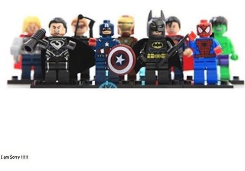 colección tipo lego mini avengers