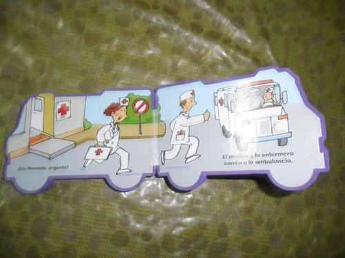 coleccion transportes la ambulancia sigmar librito didactico