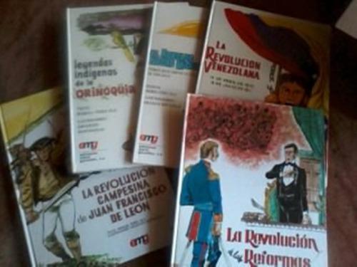 colección venezuela y su historia. libros