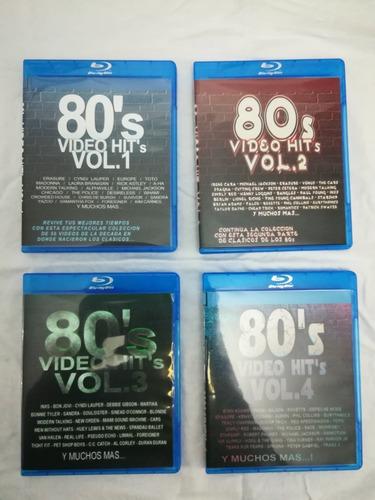 coleccion videos musicales de los 80's bdisc