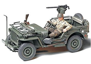 coleccionable 1/35 jeep willys mb 1 / 4ton