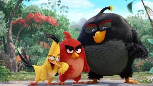 coleccionable angry birds / pajaritos de la pelicula