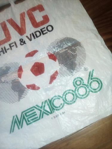 coleccionable bolsa jvc mundial mexico 86