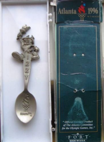 coleccionable cucharita de atlanta 1996