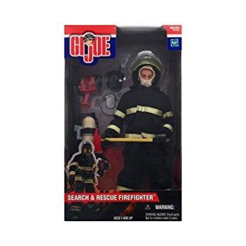 coleccionable gi joe búsqueda y rescate del bombero
