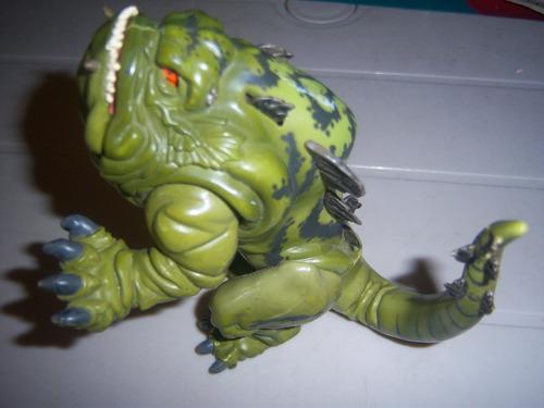 coleccionable grovel lizard reptil vintage16 cm toy biz 98