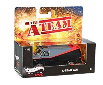 coleccionable hot wheels elite one a-team van (escala 150)