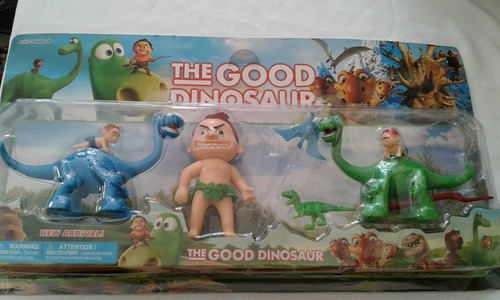 coleccionable juguete dinosauro y el nino