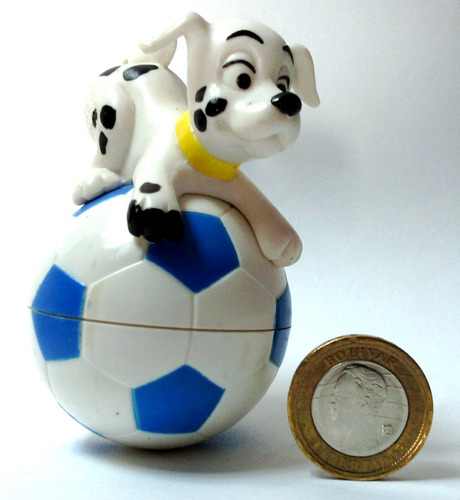 coleccionable juguete mcdonald's 1996 101 dálmatas n° 42