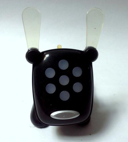 coleccionable juguete mcdonald's 2007 i-dog negro