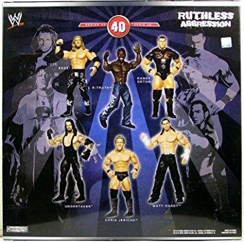 coleccionable lucha libre wwe jakks pacific agresión i w42