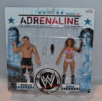 coleccionable lucha libre wwe world entertainment adrenalin
