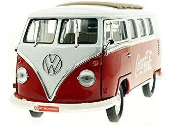 coleccionable motor city classics 1962 volkswagen samba bus