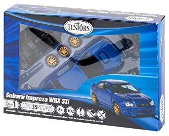 coleccionable testores subaru impreza wrx de coches (escala