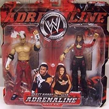 coleccionable wwe adrenalina serie 9