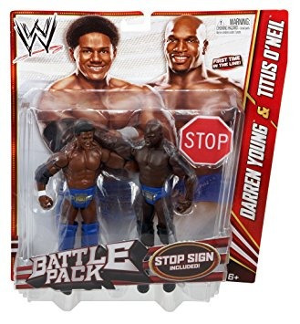 coleccionable wwe serie 21 battle pack darren young vs tito