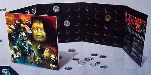 coleccionador d monedas 30th ani. star wars cinefans