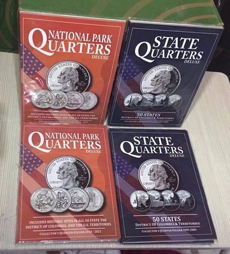 coleccionador para monedas de dolar de presidentes nuevos