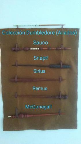 colecciones de varitas harry potter  + paño exhibidor