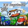 Kit Imprimible Chuck Y Sus Amigos + Candy Bar Cumples Y Masc