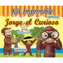 Kit Imprimible Jorge El Curioso + Candy Bar Fiesta