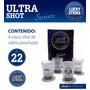 Vasos Ultra Shot Lucky Strike Tequila Pisco De Coleccion