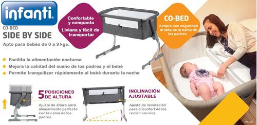 colecho gris para bebe infanti