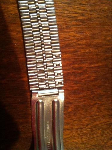 colecionador pulseira original oriente em aço inox linda!!!!