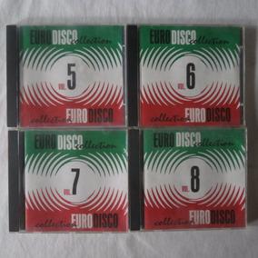 Coleção 10 Cd's Eurodisco Collection 01 Ao 10 Importado