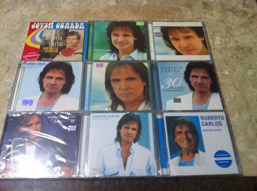 coleção 11 cds novos - 9 álbuns - roberto carlos