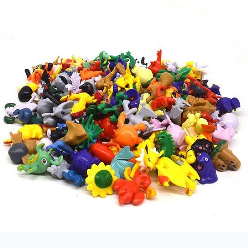 coleção 144 pokemon miniatura pikachu bonecos game brinquedo