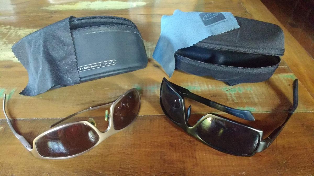 e327a8a2b Coleção 2 Óculos (chilli Beans/triton) - R$ 110,00 em Mercado Livre
