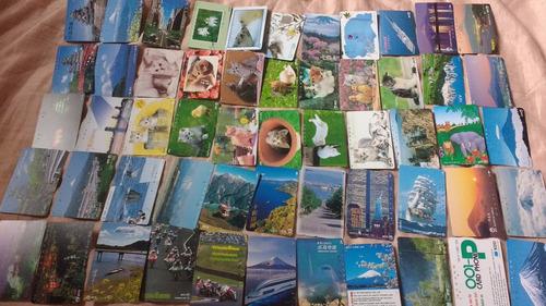 coleção 200 cartões telefônicos diferentes japoneses
