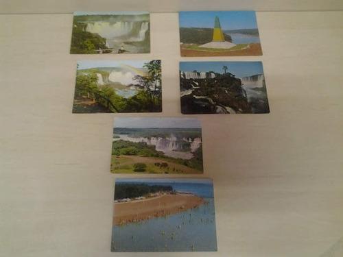 coleção 31 postais antigos do parana anos 70,80 e 90