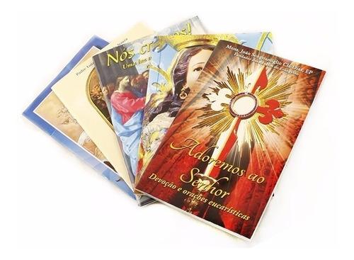 coleção 5 livrinhos - livro - devoções diversas