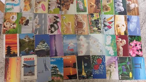 coleção 500 cartões japão telefônicos diferentes japoneses