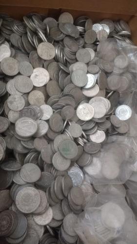 coleção 500 moedas antigas nacionais + 500 internacionais