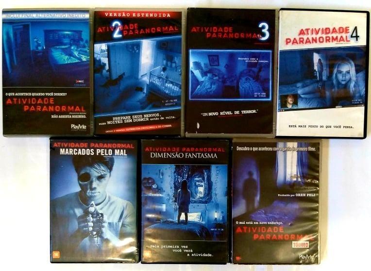 Colecao 7 Filmes Dvd Atividade Paranormal Terror R 169 40 Em