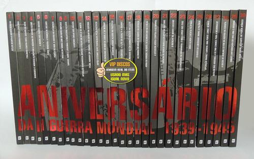 coleção 70 ª aniversário da segunda guerra mundial 30 livros