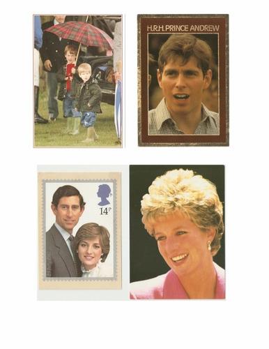 coleção 70 cartão postal lady diana lady di princesa diana