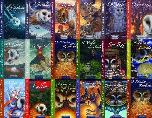 coleção - a lenda dos guardiões 17 livros - 11 a 17 anos
