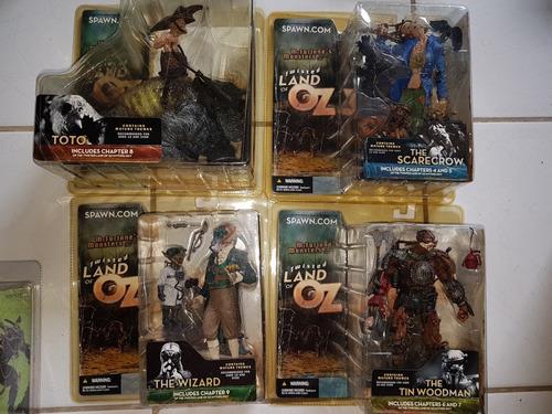 coleção action figure spawn mcfarlane twisted land of oz
