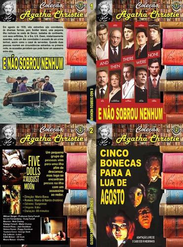 coleção agatha christie em 10 dvds imperdíveis