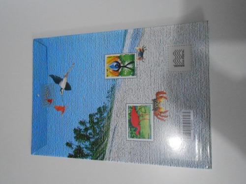 coleção anual álbum  de selos do brasil - 2004